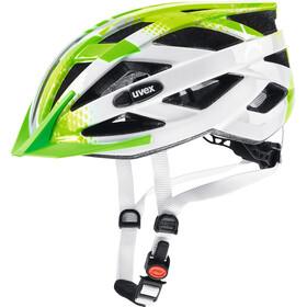 UVEX Air Wing Helmet Junior lime-white
